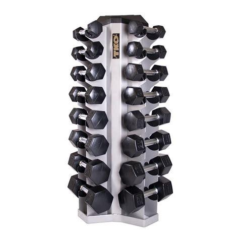 Dumbell Pasir tko 8 pair vertical dumbbell rack tko strength performance