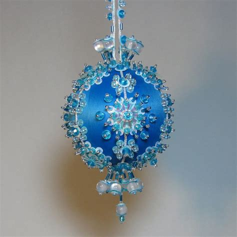 beaded ornament kits beaded ornament kit snow