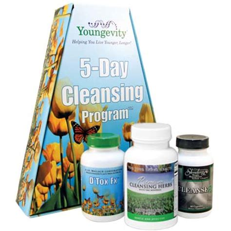 Detox Ceo Mega Pack by Dr Wallach Youngevity Supralife Youngevity 174 5 Day
