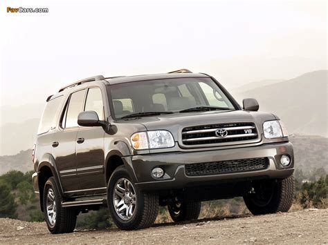 05 Toyota Sequoia Pictures Of Toyota Sequoia Limited 2000 05 800x600