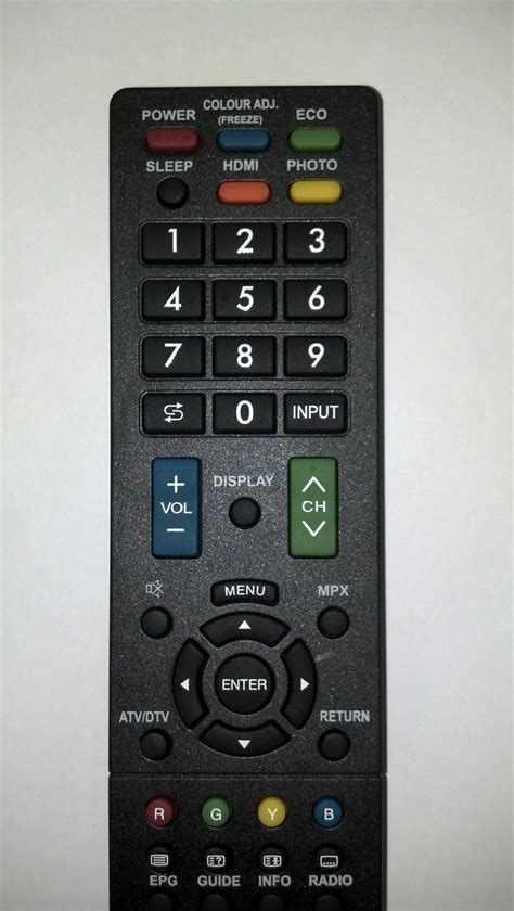 Remot Tv Lcd Sharp jual remot remote tv sharp lcd led kw specialist remote