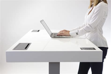 Standing Desk Productivity by Stir Kinetic Desk Increases Productivity And Helps Burn