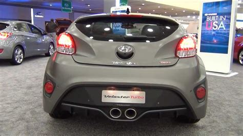 hyundai veloster turbo matte black matte gray 2014 hyundai veloster turbo youtube