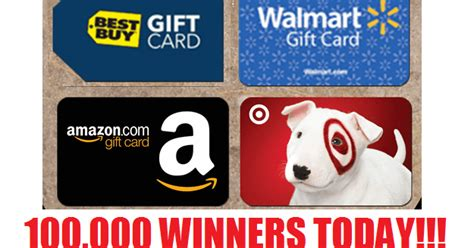 Amazon Instant Video Gift Card Restrictions - huge gift card instant win giveaway 100 000 winners win 5 or 10 gift cards to