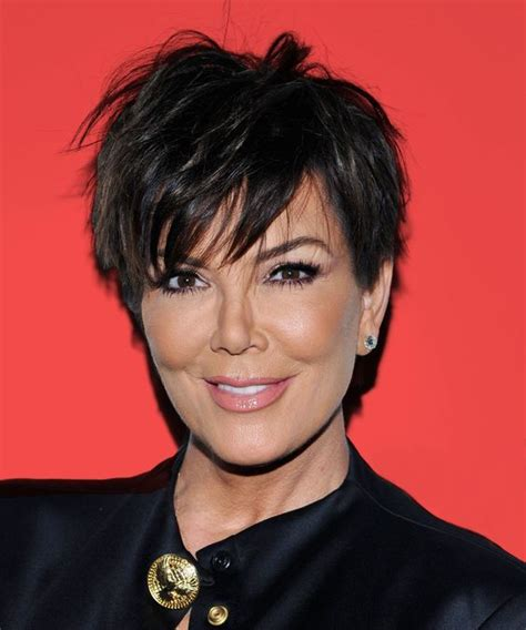 hair cut short like kris kardashian jenner and the technical 12 ways kris jenner wore her infamous haircut