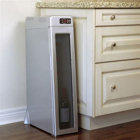 chambrer silent vertical tower wine cooler the green