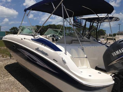 used hurricane deck boats for sale florida 2008 used hurricane sundeck 24 deck boat for sale