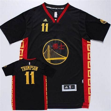 golden state warriors new year golden state warriors 11 klay thompson black slate