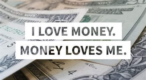 how to attract money with affirmations