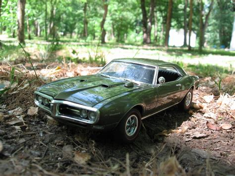 Modellbausatz Auto by Revell Model Car Firebird 400 Ram Air 1968 In Scale