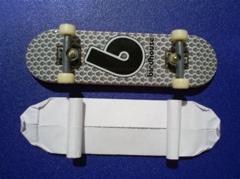 How To Make A Paper Skateboard - origami skateboard all