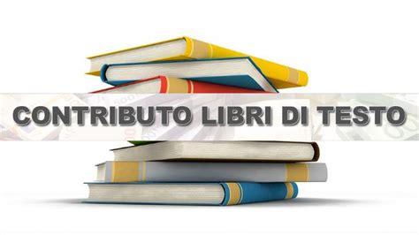 contributo libri di testo c 232 tempo fino al 30 settembre
