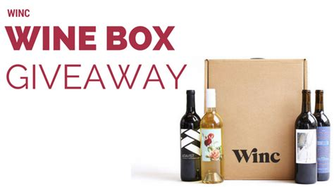 Giveaway Boxes - winc wine box review giveaway southern savers