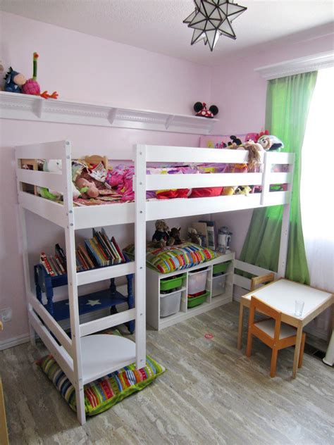 Turn A Bunk Bed Into A Loft Bed Bedding Turn A Mydal Bunkbed Into Kura Loft Bed Ikea Hackers Bunk Picture Staircase Reviews