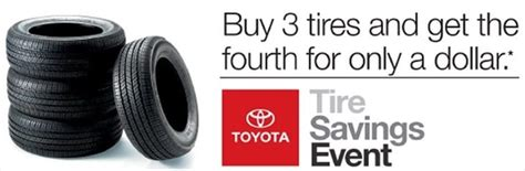 Toyota Tire Savings Event Buy 3 Get 1 For 1 Peterson Toyota Of Boise