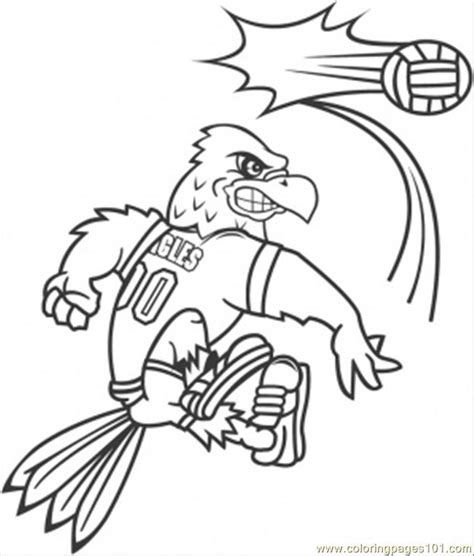 printable volleyball bookmarks coloring pages bird with volley ball sports gt volleyball