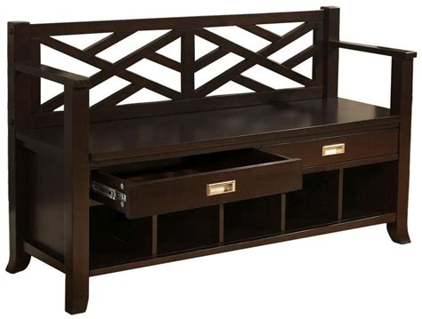 Shoe Bench With Drawers by Simpli Home Sea Mills Entryway Bench W
