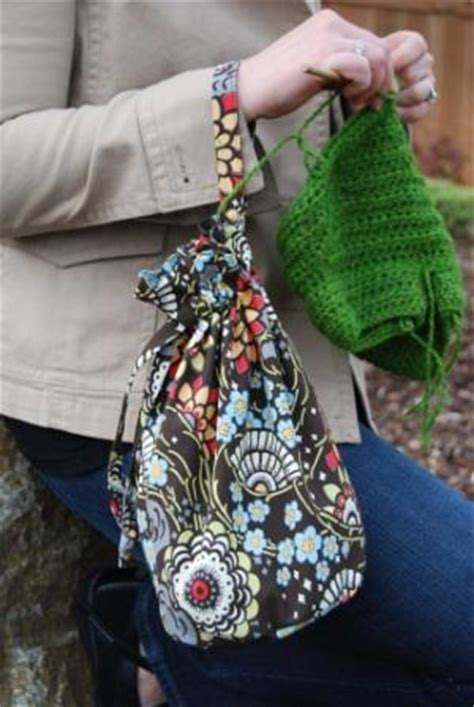 sewing pattern for knitting project bag knitting project bag sewing pattern free simple