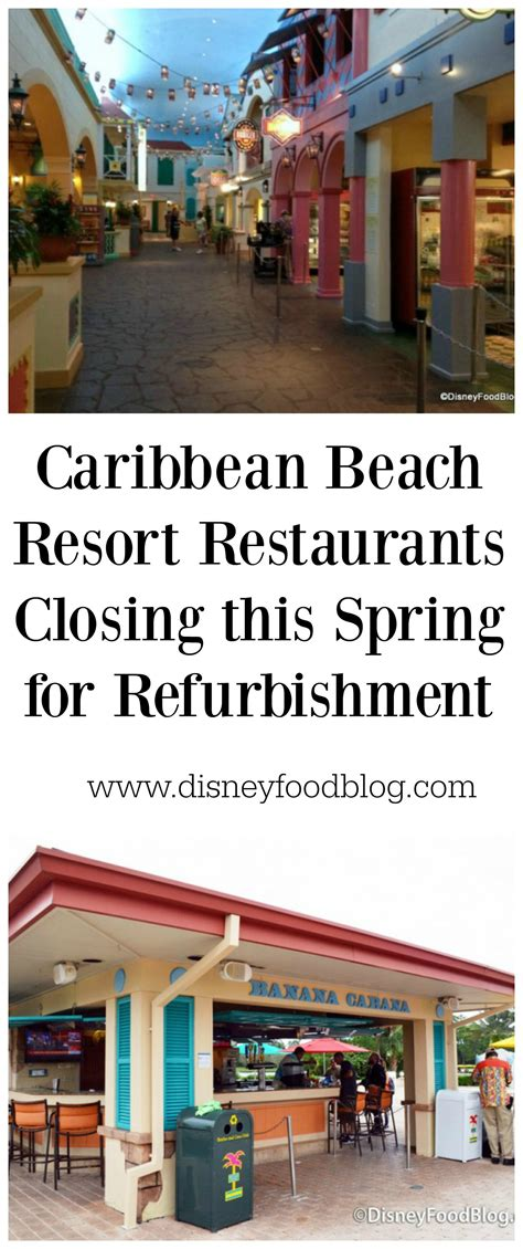 Caribbean Beach Resort Gift Card - news caribbean beach resort restaurants closing this spring for refurbishment the