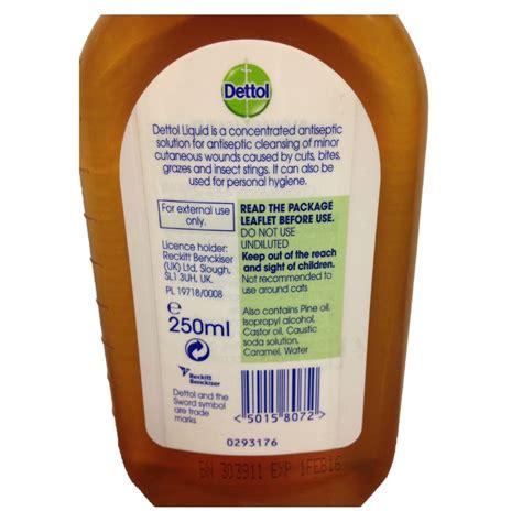 Detol Antiseptik dettol liquid antiseptic