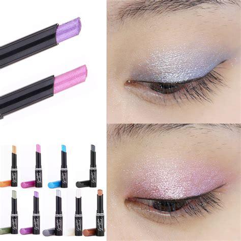 Eyeshadow Qianyu Indonesia new 2016 brand pirmer eyeshadow stick flowers single colors golden luminous eye shadow