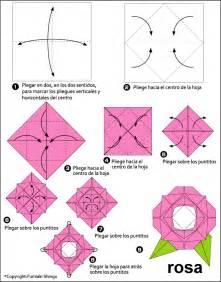 Как сделать розу из оригами поэтапно