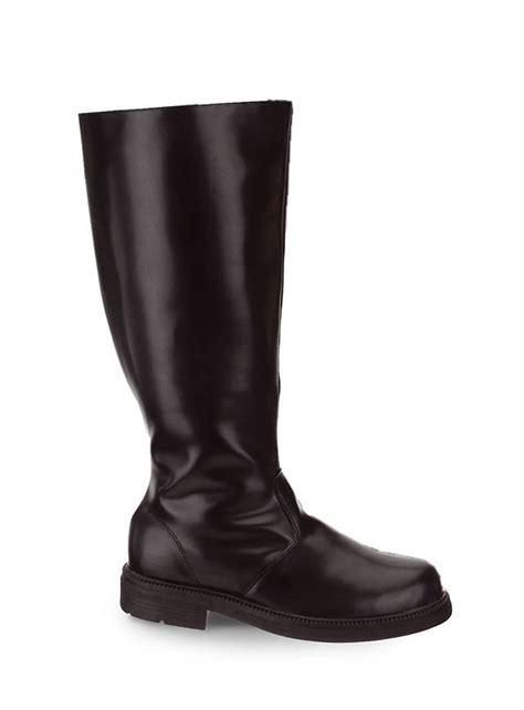 officer s boots black maskworld