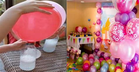 Cara Tiup Balon cara unik mengisi gas ke dalam balon tanpa gas helium