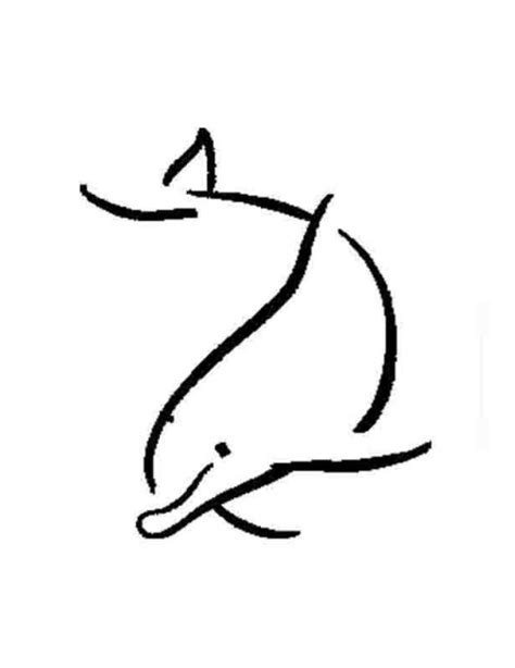 dolphin outline clipart best dolphin outline clipartion com