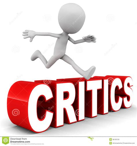 Critics Critique by Challenges Of Being Successful Dealing With Critics
