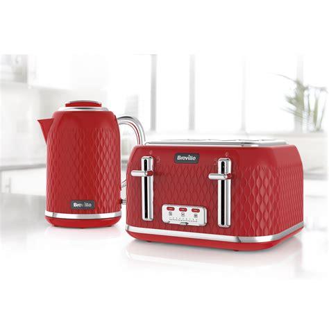 Breville Cream Toaster Red Curve Colletion Toaster 4 Slice Breville