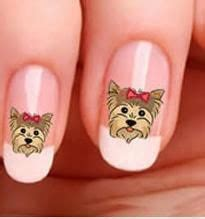 new yorkie nails doggie nailart on nails nail and nail galleries