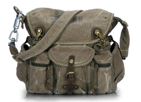 vintage canvas messenger bags canvas travel shoulder