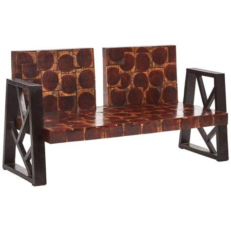 block sofa wood block sofa for sale at 1stdibs