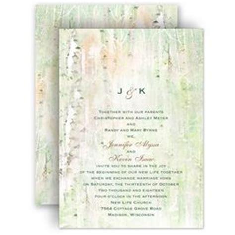 birch tree wedding invitations 12 impressive birch tree wedding invitations only for you