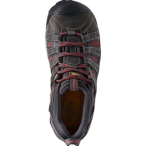 keen safety shoes keen flint low s steel toe work shoe k1014598