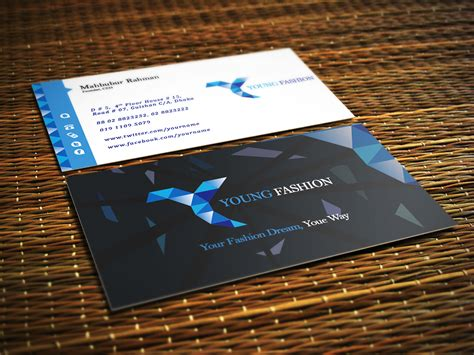 psd business card template fashion 60 free premium psd business card template