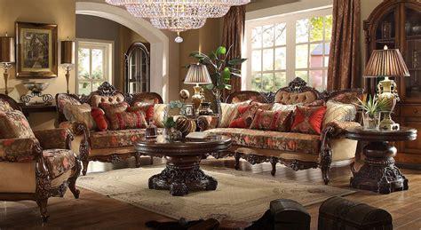 Homey Design Living Room Sets Homey Design Hd 39 Palermo Wood Trim Loveseat
