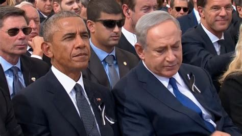 shimon peres funeral attended by obama briefly brings israeli palestinian leaders together