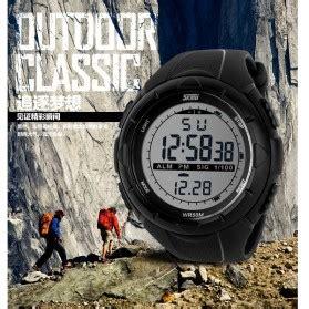 Jam Tangan Pria Digital Water Resist Dg1025 Black Original Skmei skmei jam tangan sport digital pria dg1025 black jakartanotebook