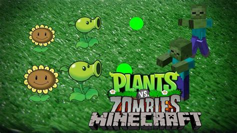mod game plant vs zombie minecraft mod 1 5 2 plants vs zombies youtube
