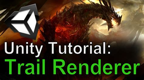 unity tutorial videos unity tutorial trail renderer youtube