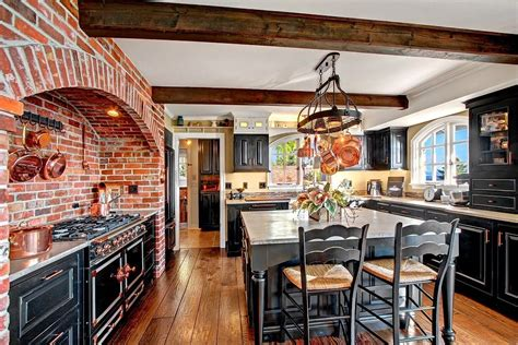 Mexican Tile Bathroom Ideas rustic kitchen with breakfast bar amp exposed beam zillow