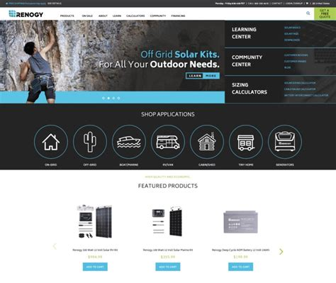 best e commerce site best ecommerce websites 22 award winning design exles