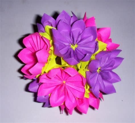 Origami Kusudama Flower - origami origami kusudama 1