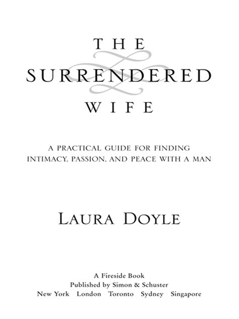 The Surrendered Wife (1999) READ ONLINE FREE book by Laura