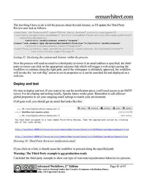 alfresco developer series advanced workflows