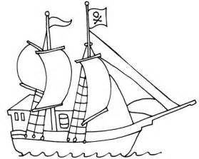 pirate ship templates pirate template clipart best