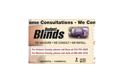 budget blinds coupon codes