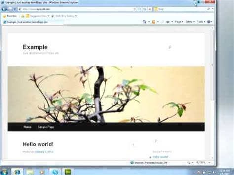 layout youtube wordpress wordpress theme design in dreamweaver youtube